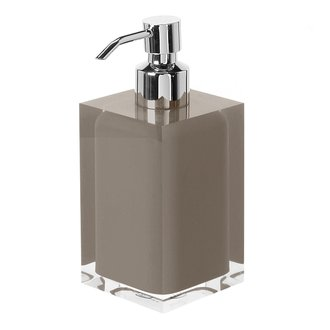 Square Turtledove Countertop Soap Dispenser Gedy RA81-52