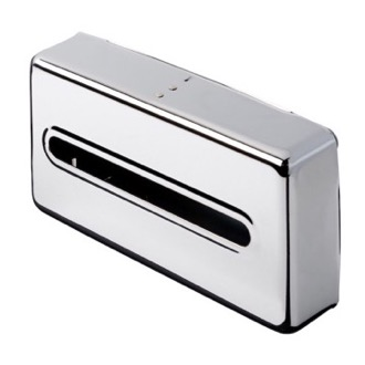 Tissue Box Cover Chrome Surface Tissue Box Cover 121 Geesa 121