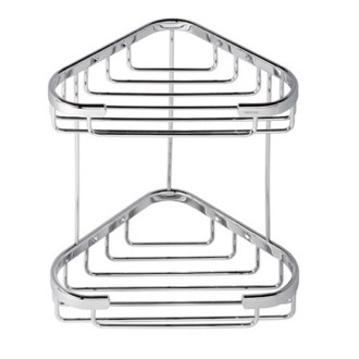 Shower Basket Chrome 2 Tier Double Shower Basket 185 Geesa 185