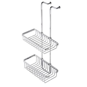 Shower Basket Over-the-Door Double Shower Basket 253 Geesa 253