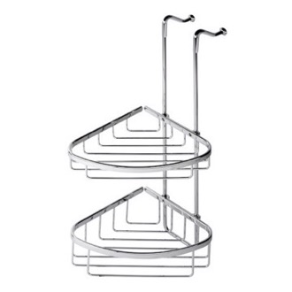 Shower Basket Over-the-Door Chrome Double Shower Basket 255 Geesa 255