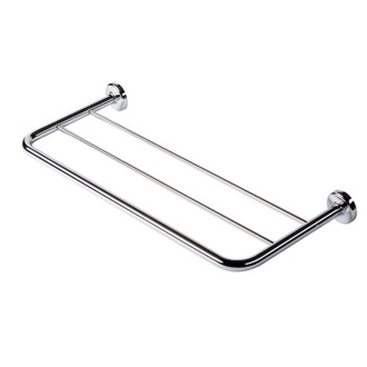 Train Rack Chrome Towel Rack or Towel Shelf Geesa 5353