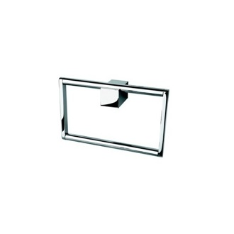 Towel Ring Square Chrome Hand Towel Ring 7504-02 Geesa 7504-02