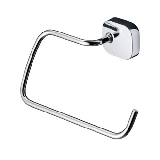Towel Ring Round Wall Mounted Chrome Towel Ring 2404-02 Geesa 2404-02