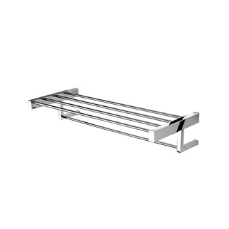 Train Rack Chrome Towel Rack or Towel Shelf Geesa 3552-02