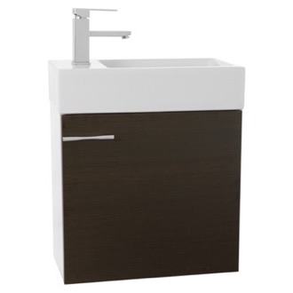 Bathroom Vanity 21 Inch Wall Mount Wenge Bathroom Vanity Set Iotti LC02