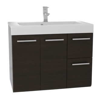 Bathroom Vanity 30 Inch Wall Mount Wenge Bathroom Vanity Set Iotti MC02