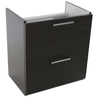 Vanity Cabinet 23 Inch Wall Mount Wenge Vanity Cabinet Iotti LN10