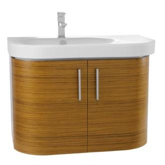 Bathroom Vanity 32 Inch Wall Mount Teak Bathroom Vanity Set Iotti RC03. Teak Bathroom Vanities   TheBathOutlet com