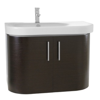 Bathroom Vanity 32 Inch Wall Mount Wenge Bathroom Vanity Set Iotti RC01