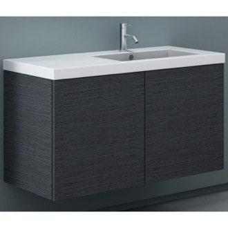 Vanity Cabinet with Self Rimming Sink and 2 Doors Iotti SE03C