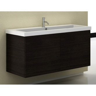 47 Inch Vanity Cabinet with Self Rimming Sink Iotti SE05C