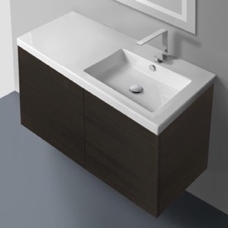 39 Inch Vanity Cabinet with Self Rimming Sink Iotti SE03C
