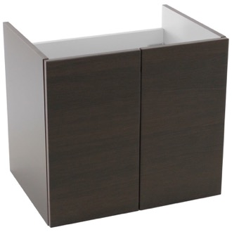 23 Inch Wall Mount Wenge Bathroom Vanity Cabinet Iotti PS02