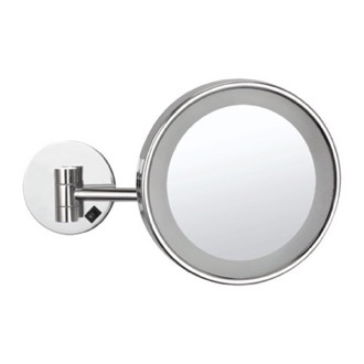 Wall Mounted Single Face 3x Makeup Mirror with LED, Hardwired Nameeks AR7704