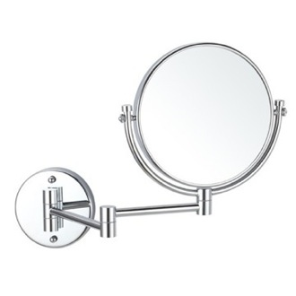 Double Sided Wall Mounted 5x Makeup Mirror Nameeks AR7707-CR-5x