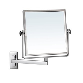 Makeup Mirror Square Wall Mounted 3x Makeup Mirror Nameeks AR7709-CR-3x