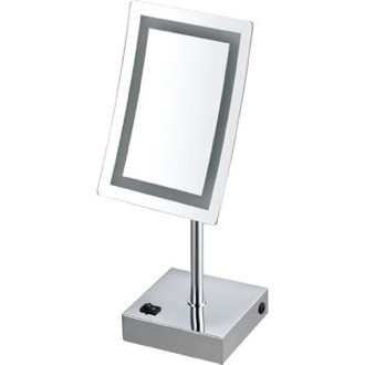 Makeup Mirror Single Face LED 3x Makeup Mirror Nameeks AR7715