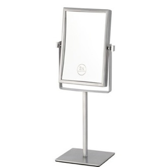 Double Face Rectangular 3x Makeup Mirror Nameeks AR7726
