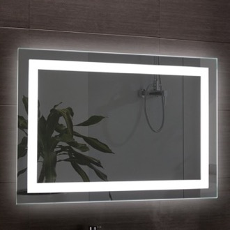 39 x 28 Inch Illuminated Vanity Mirror Nameeks ARR03