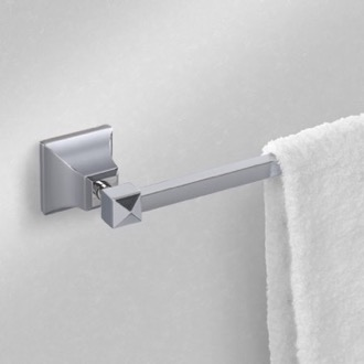 14 Inch Polished Chrome Towel Bar Nameeks NCB03
