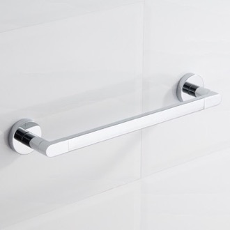 17 Inch Polished Chrome Towel Bar Nameeks NCB78