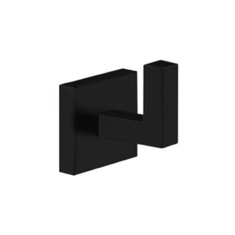 Bathroom Hook Square Bathroom Hook in Black Finish Nameeks NNBL0054