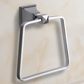 Towel Ring Polished Chrome Towel Ring Nameeks NCB04