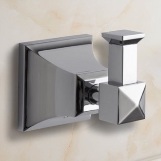 Polished Chrome Bathroom Hook Nameeks NCB05