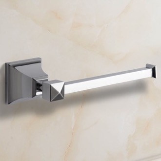 Polished Chrome Toilet Paper Holder Nameeks NCB06