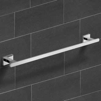 21 Inch Polished Chrome Towel Bar Nameeks NCB22