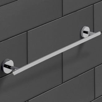 21 Inch Polished Chrome Towel Bar Nameeks NCB28