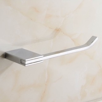 Polished Chrome Toilet Paper Holder Nameeks NCB35