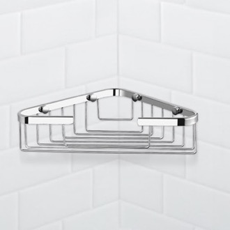 Chrome Corner Shower Basket Nameeks NFA023