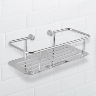 Wall Mounted Chrome Shower Basket Nameeks NFA028