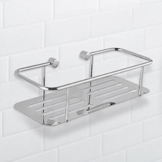 Wall Mounted Chrome Shower Basket Nameeks Nfa028