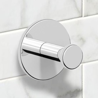 Polished Chrome Bathroom Hook Nameeks NNBL0011