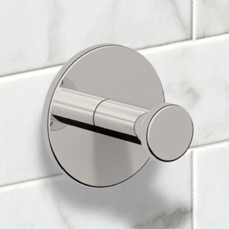 Satin Nickel Bathroom Hook Nameeks NNBL0013