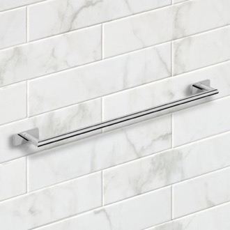 26 Inch Polished Chrome Towel Bar Nameeks NNBL0014