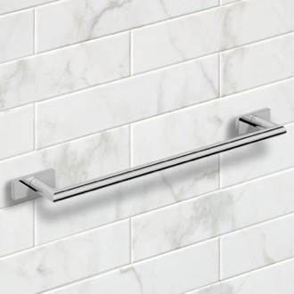21 Inch Polished Chrome Towel Bar Nameeks NNBL0015