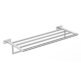 Train Rack Polished Chrome Towel Rack Nameeks NNBL0018