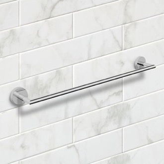 25 Inch Polished Chrome Towel Bar Nameeks NNBL0024