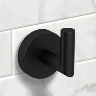 Matte Black Bathroom Hook Nameeks NNBL0028