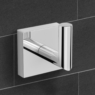 Polished Chrome Bathroom Hook Nameeks NNBL002