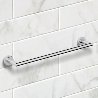 19 Inch Polished Chrome Towel Bar Nameeks NNBL0037