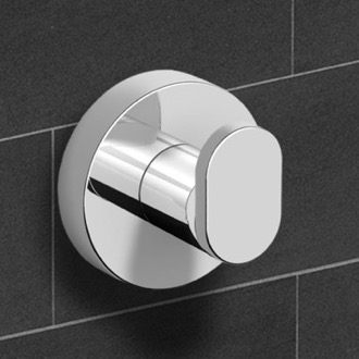 Polished Chrome Bathroom Hook Nameeks NNBL0039