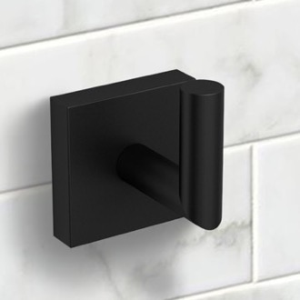 Matte Black Bathroom Hook Nameeks NNBL003