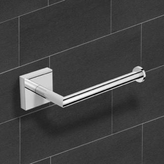 Polished Chrome Toilet Paper Holder Nameeks NNBL006