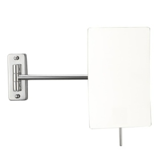Wall Mounted Chrome 3x Shaving Mirror Nameeks AR7727