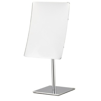 Rectangular Chrome 3x Makeup Mirror Nameeks AR7728